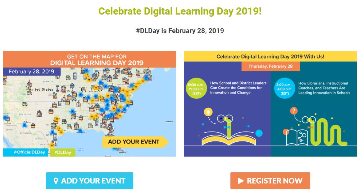Participați la celebrarea Digital Learning Day - 28 februarie 2019